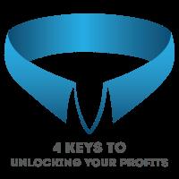 4 keys to unlocking your profits logo