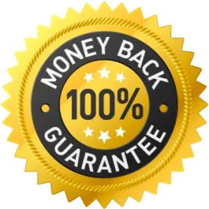 100% Money Back Guarnantee
